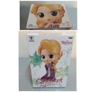 日版 景品 Q posket DISNEY 迪士尼公主 長髮公主 樂佩 糖果色 特別色