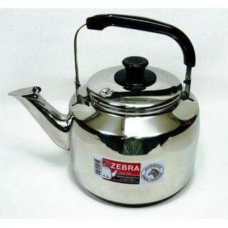 特價出清 斑馬牌新正厚304%23不鏽鋼 笛音茶壺 4.5L 開水壺.冷水壺 極厚款另有 2.5/ 3.5/ 7.5L
