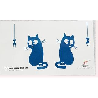 現貨釣魚貓紋身貼 防水紋身 紋身貼紙 防水【VK0109】