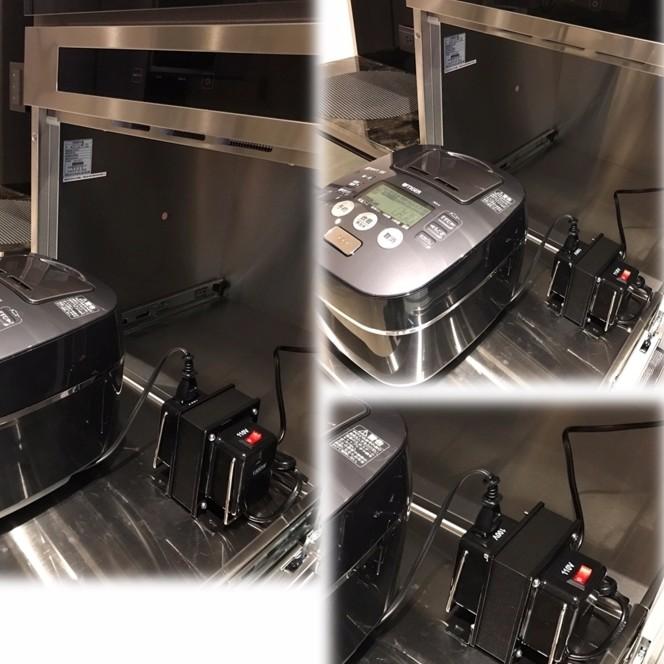 Hitachi 日立 電子鍋【RZ-JP10J】日本電器專用變壓器 110/100V 2000W 免運 4色現貨