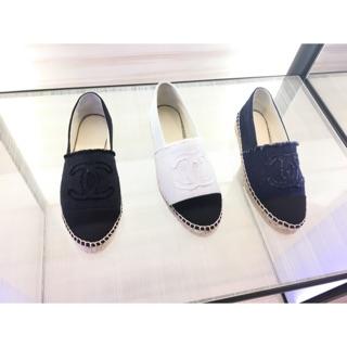 代購 Chanel 帆布鉛筆鞋