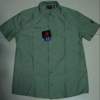 猛瑪象 Mammut Trovat Shirt 短袖排汗襯衫(arcteryx參考)