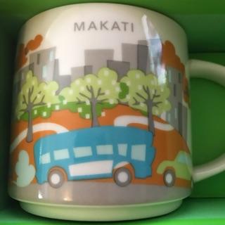 Starbucks City Mug - You Are Here - YAH 馬卡蒂 Makati