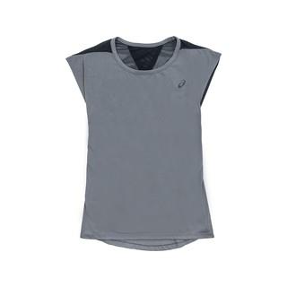 壯男的店 ASICS亞瑟士 女運動短袖挖背T恤 140891-0729 / 140891-8121水藍