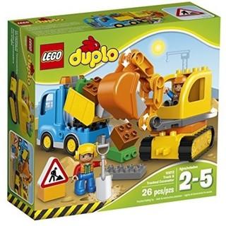 LEGO 樂高 得寶幼兒 工地系列 卡車及履帶式挖土機 10812 全新未拆 非10811 10518 10813
