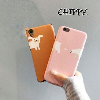 北極熊與狗狗OPPO手機殼預購