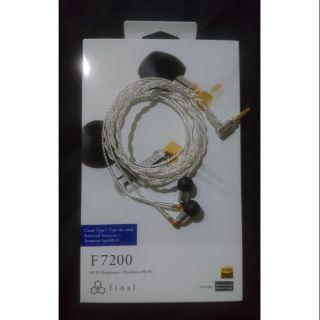 Final Audio F7200 F系列旗艦 京線 E3000 E2000 F4100 Heaven可參考