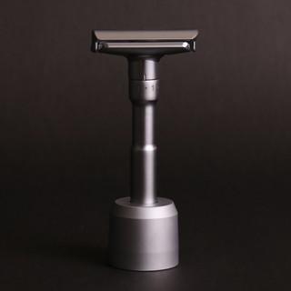 英國代購 Grand Manner 六段式雙刃刮鬍刀(送專屬刀座組) 現貨