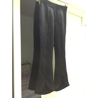微喇叭弹力9分裤(裤裆长27cm,全裤长92cm,手工测量误差范围02cm)
