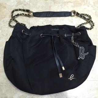 二手 黑色側背袋