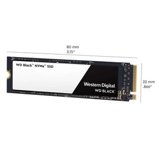 WD BLACK黑標 NVMe SSD 1TB 2018超高速讀寫SSD WDS100T2X0C