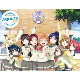 Aqours Club CD Set附特典明信片(不含會員序號)