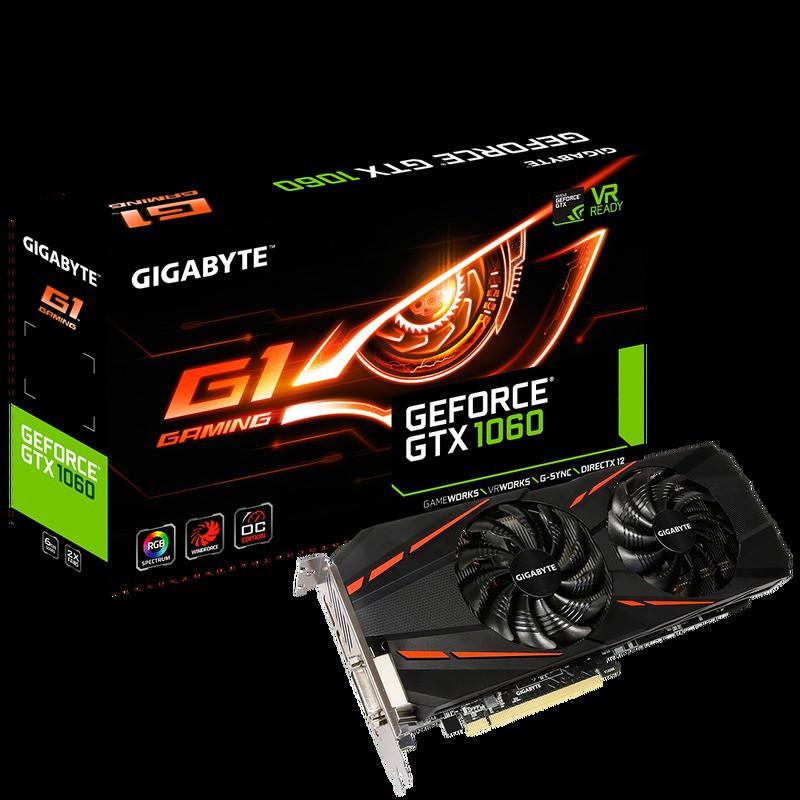 GTX1060 技嘉 GTX 1060 G1 Gaming 6G / GV-N1060G1 GAMING-6GD