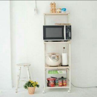 移動式廚房四層電器架/置物架(賣家免運)