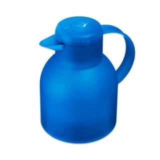 德國品牌 EMSA 保溫瓶 1 公升-水藍/深藍/透白/紅/紫色(德國原裝)
