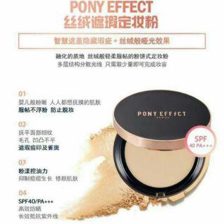 Pony effect 完美限量絲絨遮瑕粉餅