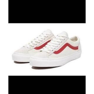 (35-44)Vans Vault OG Style LX Marshmallow  權志龍GD 白紅 帆布男女鞋