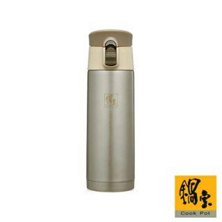 【鍋寶】超真空保溫杯450CC(香檳金) SVC-0450C