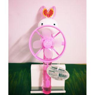 韓國兔兔,泡泡電風扇玩具,吹泡泡玩具