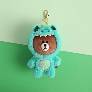 [正版]韓國 Line Friends 熊大恐龍吊飾