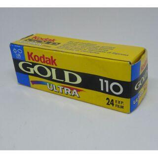 Kodak gold ultra iOS 400 110底片 過期
