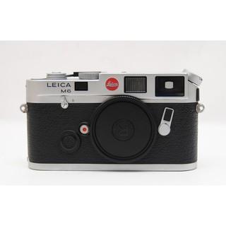 Leica M6 單機 9.0新 左上有小傷《歡迎舊機折抵4》A31719