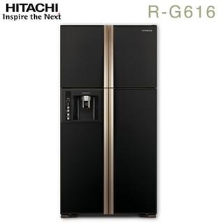 HITACHI日立 594公升變頻四門對開冰箱(RG616)/送安裝   酬賓禮:康寧高級餐具七件組(COR