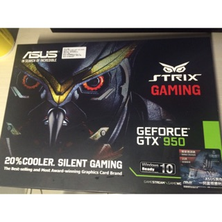 ASUS 華碩 STRIX-GTX950-DC2OC-2GD5-GAMING 顯示卡