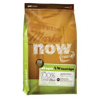 【限宅配】x派特寵物x NOW! Fresh鮮肉無穀天然糧 - 小型犬顆粒方12磅 / 狗飼料