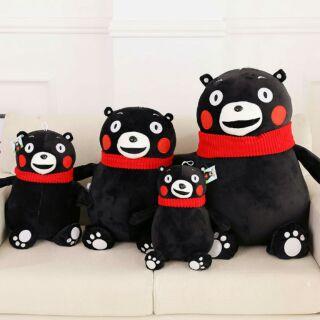 日本黑熊圍巾款娃娃