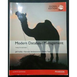 資料庫管理 Modern Database Management 12e