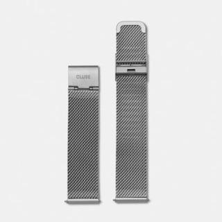 CLUSE LA BOHÈME 18mm 金屬銀不鏽鋼錶帶(38mm錶款用)