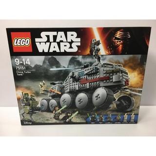 全新 樂高 LEGO 75151 STAR WARS 星際大戰系列 Clone Turbo Tank
