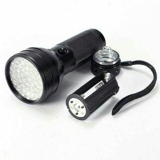 現貨紫外線燈 51LED黑光燈 395nM檢測燈 手電筒型