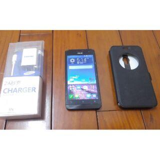 華碩 Asus Zenfone 5 LTE 紫色 支援4G 2G/8G T00P 800萬相機 皮套