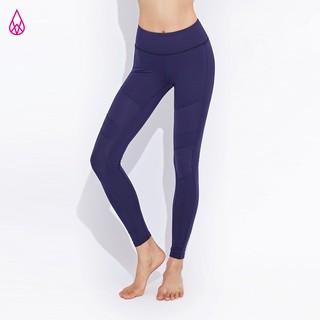 【VIASWEAT】 HERA 壓光拼接貼身運動束褲