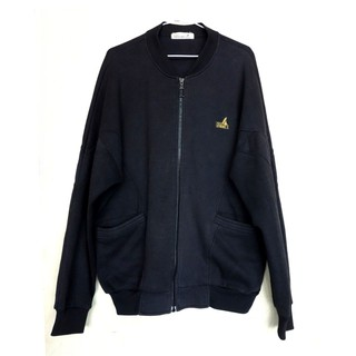 肯尼士Kennex運動外套 黑色棉質長袖休閒外套夾克 男外套 大尺碼