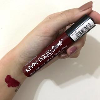 NYX液態唇釉