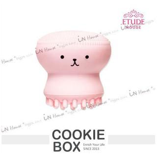 IN House* 韓 ETUDE HOUSE 多功能 打泡泡 洗臉 去角質 粉撲刷 按摩刷 粉紅章魚造型 (特價)