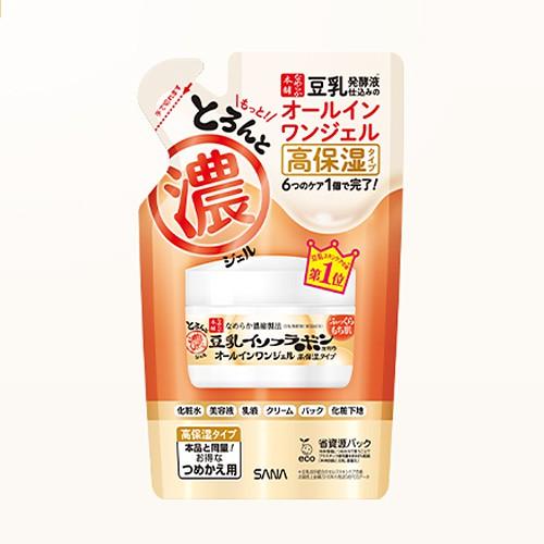 【臺北現貨】SANA 豆乳 美肌多效保濕霜 補充包 濃厚 滋潤型 100g 6合1 469558