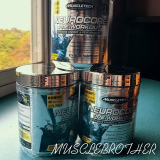 MB. 現貨 MuscleTech Neurocore Pre-Workout 藍莓 訓前 肌酸