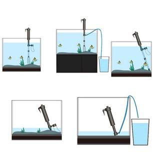 【ALL】水族箱清潔器電動砂洗設備魚缸換水泵