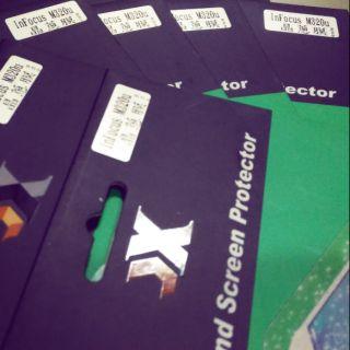 InFocus M320u 專屬免裁切晶蔥膜手機殼護貼/亮晶晶保護貼