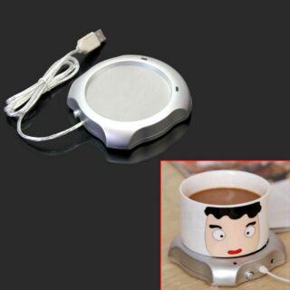 冬季必備 USB加熱器 USB電熱保溫杯墊 開關控制方便加熱