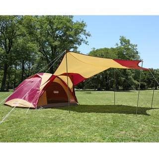 【大山野營-露營趣】中和安坑贈配件 Coleman CM-26514 勃根地版4-6人透氣圓頂露營帳IV套裝組 露營帳篷