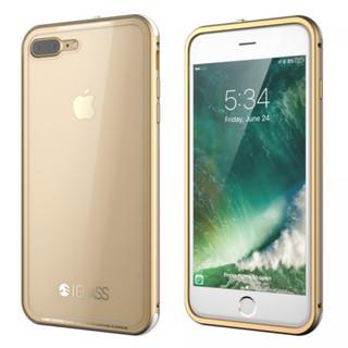 SwitchEasy iGlass iPhone 7 8 Plus 金屬邊框 7H鋼化玻璃背蓋 保護殼 背蓋