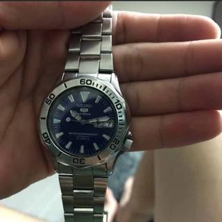 Seiko藍水鬼潛水機械錶
