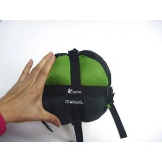 LIROSA睡袋 AS500L 超輕型鵝絨睡袋 日規95%down白鵝絨 彈性度FP800 重900克 舒適溫零下-3度