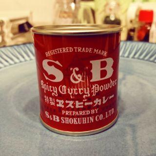 S&B 咖哩粉 中辛 37克裝 紅罐咖哩粉(現貨)