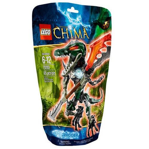 【LEGO 樂高積木】Chima 神獸傳奇系列 - 氣能量鱷霸王 LT-70203